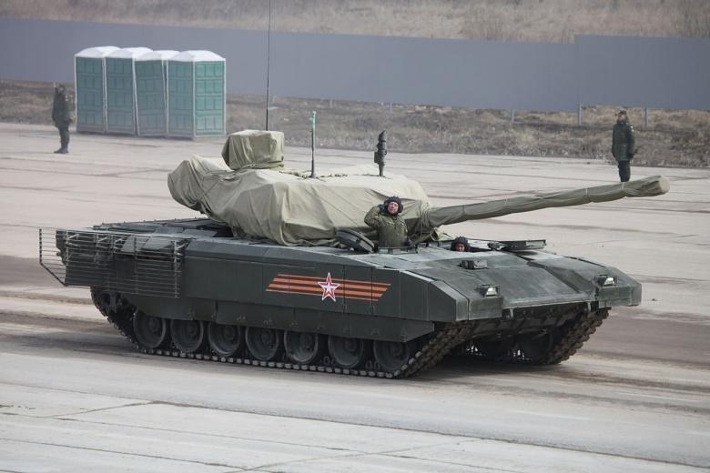 Armata T-14 skriðdrekinn (Source: Wikimedia / Vitaly V. Kuzmin)