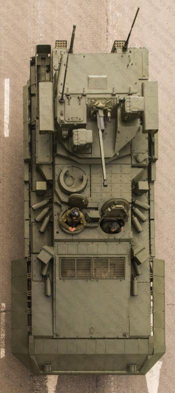 T-15 Armata að ofan (Source: Andrey Kryuchenko)