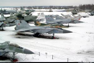 Rússneskar MiG 31 orrustuþotur verða  á norðurslóðum.