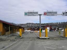 Storskog-landamærastöðin-við-Kirkenes-í-Noregi