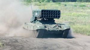 TOS-1 Buratino fjöl-skotflaugapallur
