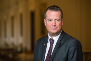 Anders Ygeman, innanríkisráðherra Svía.