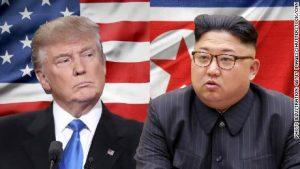 Donald Trump og Kim Jong-un
