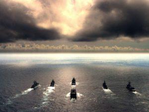 NATO-floti á N-Atlantshafi.