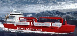 Gámaskip Royal Arctic Line