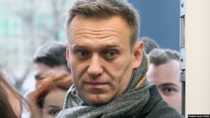 Aleksei Navalníj, stjórnarandstæðingur í Rússlandi.