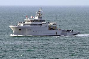Franska skipið BSAH Rhône.