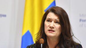 Ann Linde, utanríkisráðherra Svía.