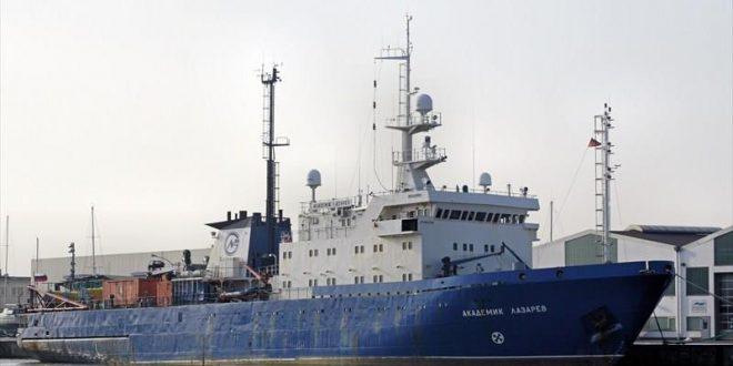 Rússnesk njósnaskip á norsku landgrunni
